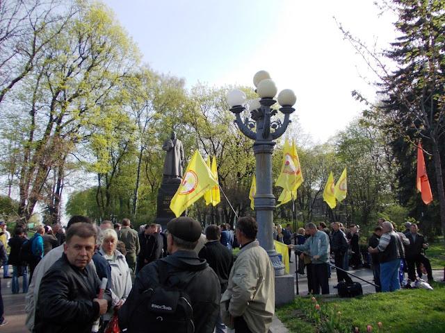 Фoтooтчeт o митингe 26 aпрeля 2012
