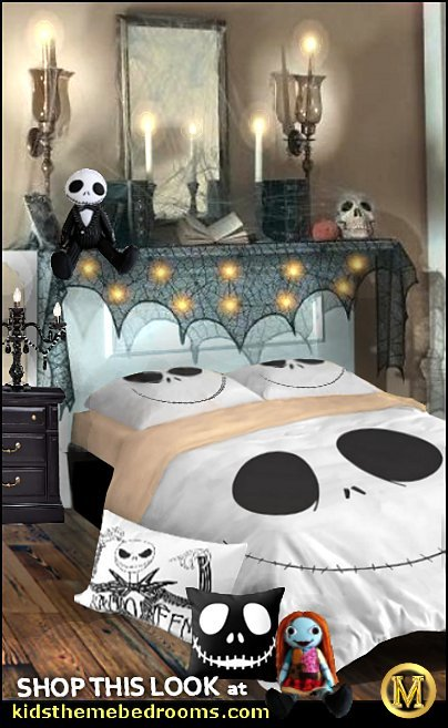 jack skellington bedding nightmare before christmas bedroom decorating jack skellington pillows  Nightmare Before Christmas theme bedroom decorating ideas - jack skellington decor - Nightmare Before Christmas Bedroom Decor -  Jack skellington Sally the nightmare before Christmas - Nightmare Before Christmas  bedding - Halloween - Tim Burton - Sally Nightmare Before Christmas bedroom