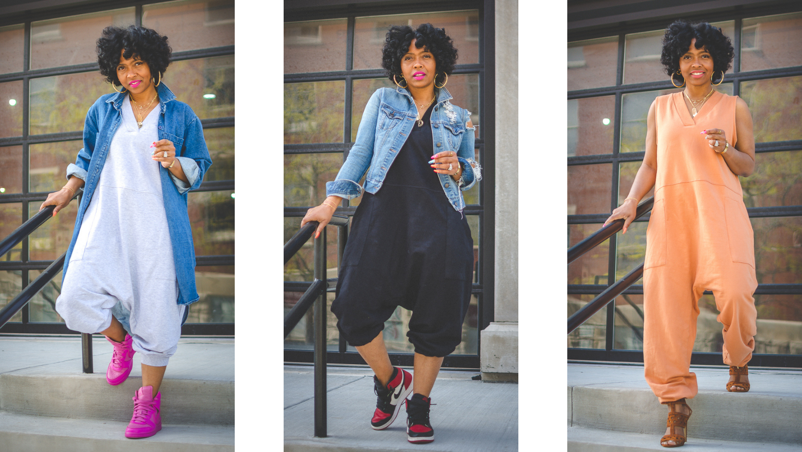 SWEENEE STYLE, SWEENEE ITEM OF THE WEEK, HOW TO WEAR A JUMPSUIT, SPRING OUTFIT IDEA, BLACK GIRLS WHO BLOG