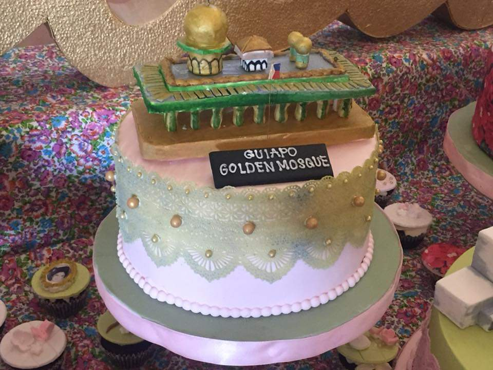 Imelda Marcos' Quiapo Golden Mosque cake