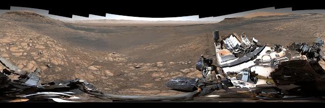 Fotografia de Marte com 1,8 milhões de pixeis