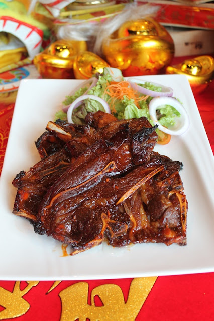 SUNWAY RESORT CAFE CHINESE NEW YEAR 2021 Menu - Chef's Special Roasted Lamb Shoulder Steak