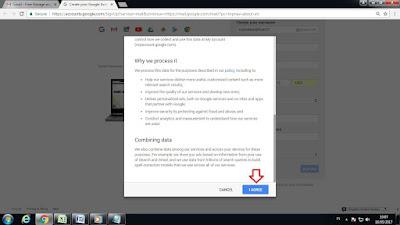 Cara Mendaftar email barud di Google Serta dukungannya