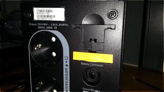 Ключ подключения батареи ИБП APC BX650CI-RS