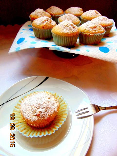 Waniliowe muffinki z krówką