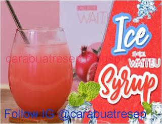 Gambar Resep Ice Waiteu High Collagen Drink Sederhana Spesial Asli Enak