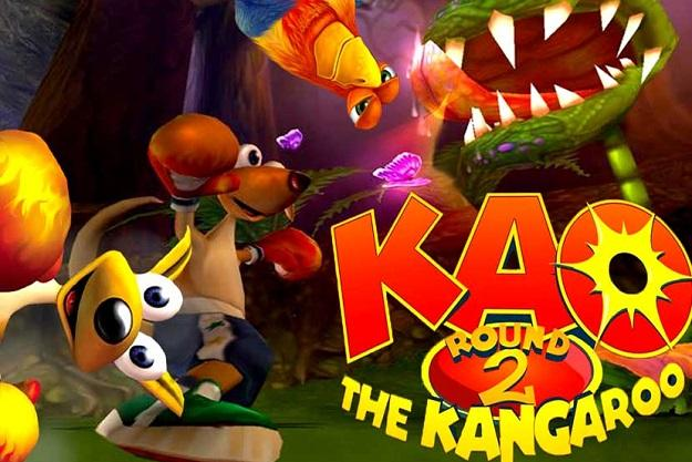 free pc game kao the kangaroo platform