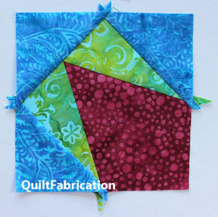 pink green and blue kite unit