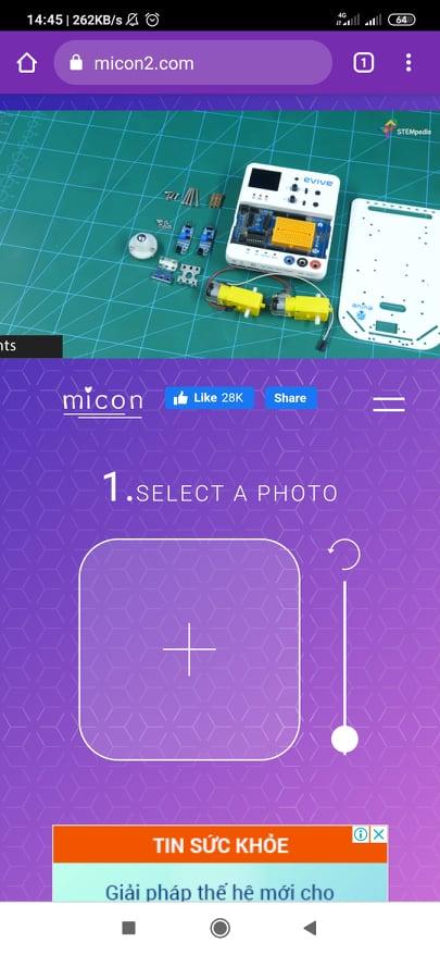 Micon. io - Ứng dụng tự tạo icon online trên Android, iPhone miễn phí b