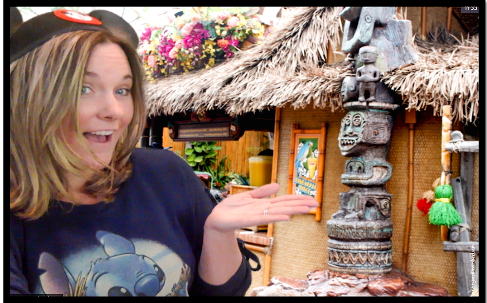 Tiki Room and Dole Whips