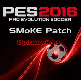 PES 2016 SMoKE Patch update 8.3.3