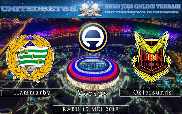 PREDIKSI Hammarby vs Ostersunds 15 MEI 2019