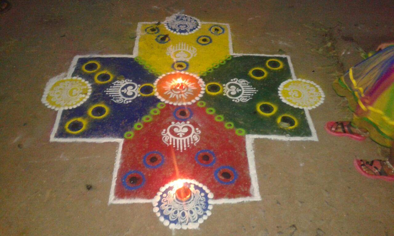 Rangoli Diwali Collection 29