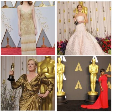 Popular Oscar Dress Colors