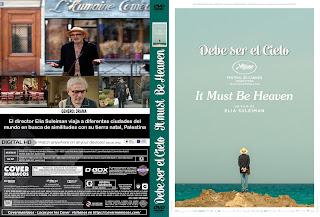 DEBE SER EL CIELO-IT MUST BE HEAVEN 2019[COVER DVD+BLU-RAY]