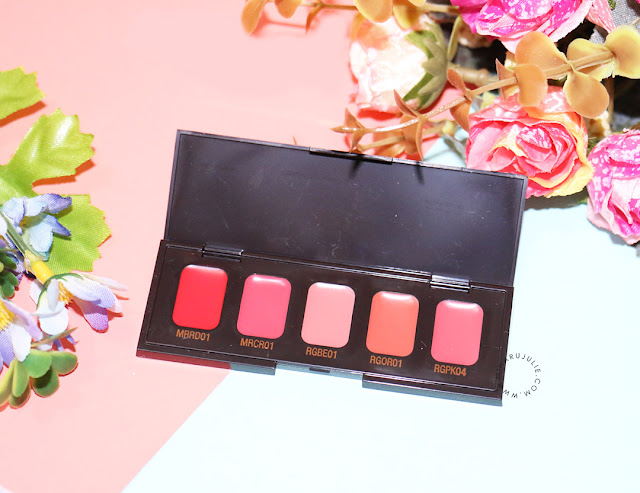 Heimish 5 Colour Mini Lipstick Palette