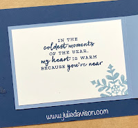 Stampin' Up! Snowflake Wishes Double Flap Card + Video Replay ~ Aug-Dec 2020 Mini Catalog ~ www.juliedavison.com
