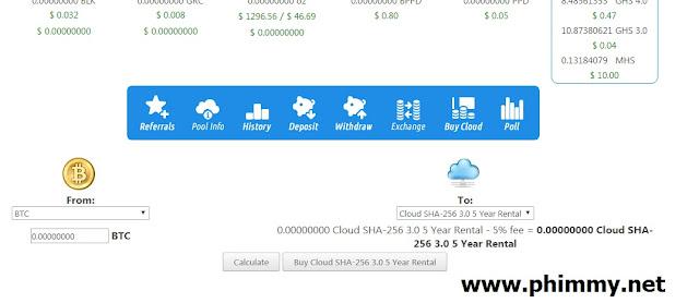 thủ thuật tăng nhanh đám mây đào bitcoin free