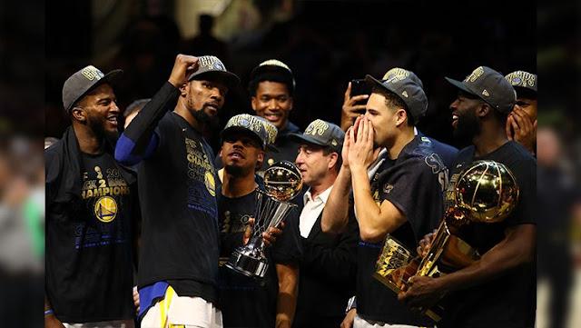 Durant berhasil membawa TIM-nya menjadi juara NBA 2018