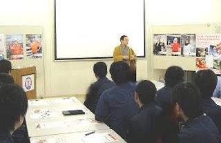 三遊亭楽春メンタルセミナー「笑いの効果でメンタルヘルスケア」