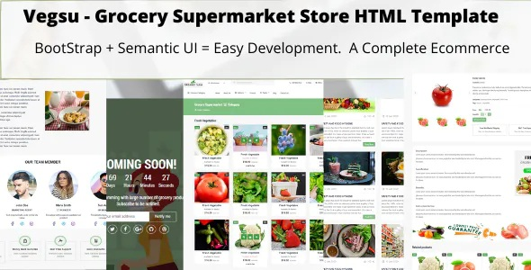 Download Grocery Supermarket Store Templates