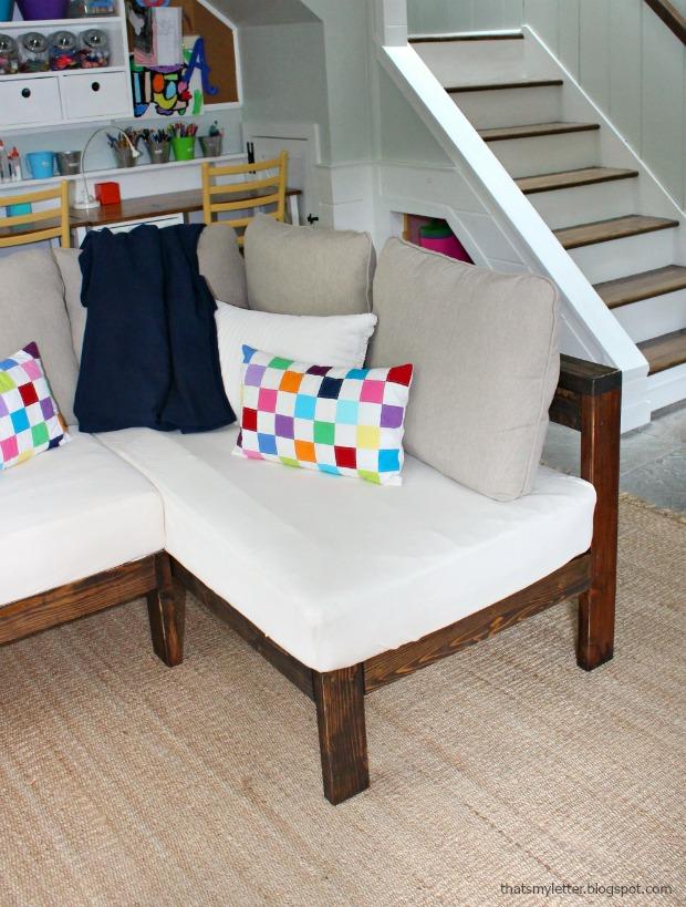 diy crib mattress sectional sofa