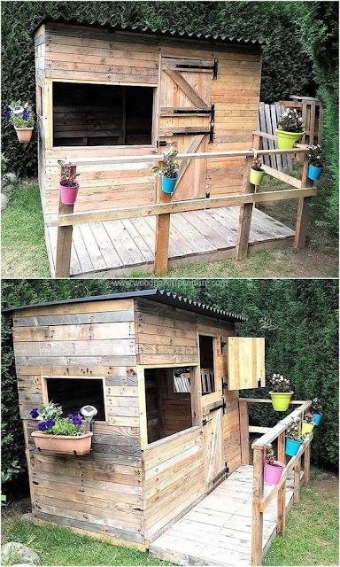แบบบ้านไม้พาเลท