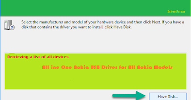 All in One Nokia USB Driver
