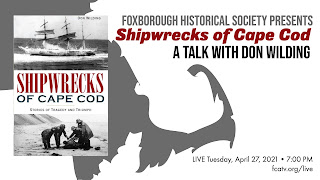 """Shipwrecks of Cape Cod: Stories of Triumph & Tragedy"" - Apr 27"