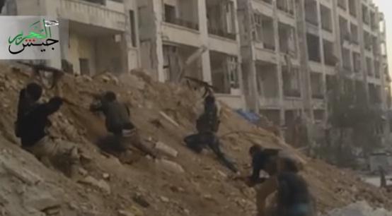 Video Pertempuran Jaish Tahrir VS Komunis Kurdi