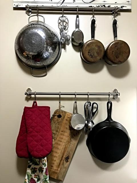 hanging kitchen bars