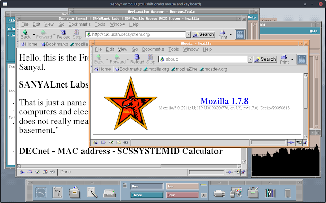 Supratim Sanyal's Blog: Mozilla Web Browser on HP-UX 11i CDE Graphical Desktop