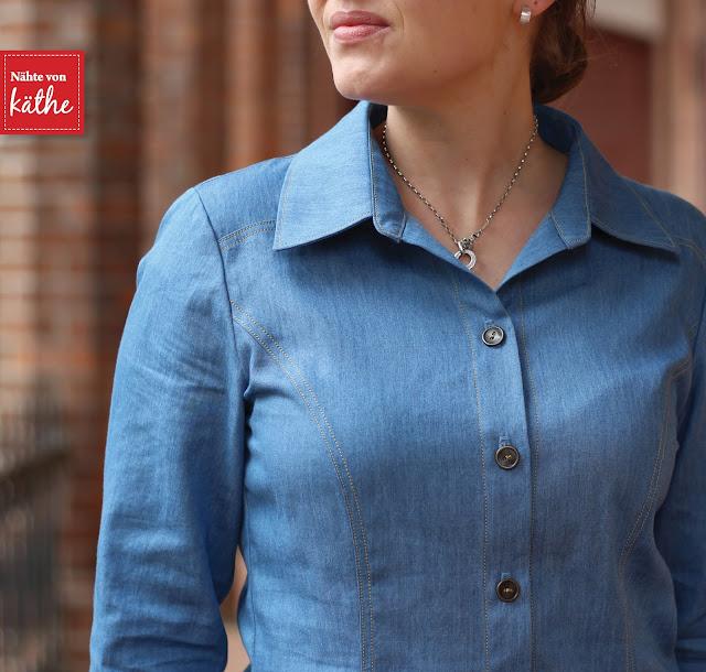 Jeanskleid von Lillesol & Pelle