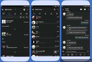 Download BBM iPhone Style iOS V3.3.0.16 Apk Terlengkap