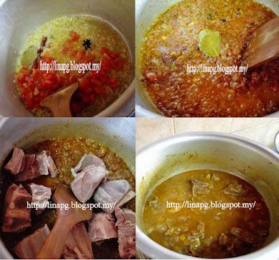 Nasi Kabsah guna rempah al hexa,nasi kabsah homemade