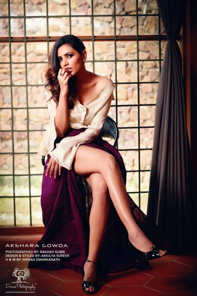 Actress Akshara Gowda Latest Hot Photo Gallery