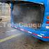 Continúan sanitizaciones en transporte y espacios públicos de Cauquenes