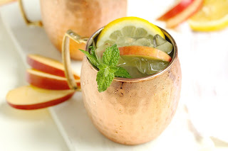 Apple Blossom Moscow Mule