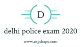 delhi police exam date 2020-2021