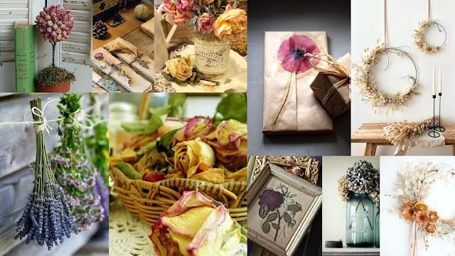 Πως θα αποξηράνετε λουλούδια για διακόσμηση και κατασκευές