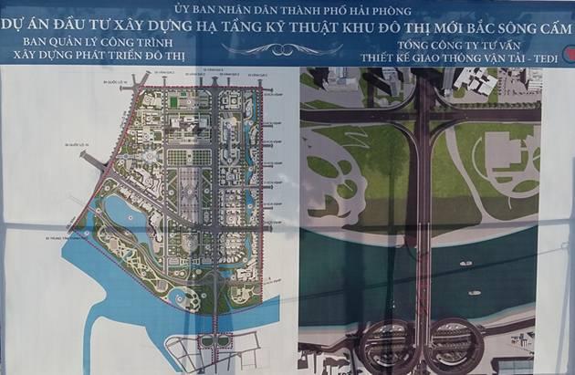 Khu đô thị mới Bắc sông Cấm: Nâng tầm đô thị Hải Phòng