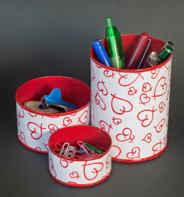 Manualidades faciles con latas de conserva recicladas