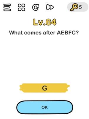kunci jawaban brain out level 64