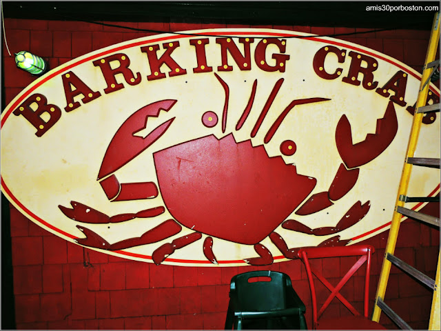 Decoración Interior del The Barking Crab en Boston