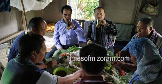 Lalduhoma leh Agri. Minister C Lalrinsanga