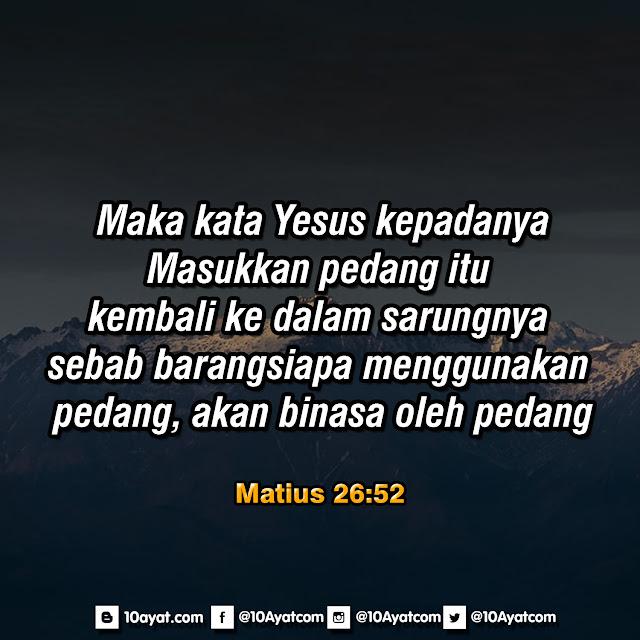 Matius 26:52