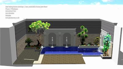 Jasa pembuatan taman minimalis belakang rumah | jasataman co id