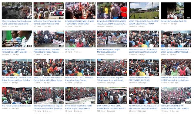Nontong Video Lengkap: Demo KNPB Dukung ULMWP Menjadi Anggota Penuh MSG Tanggal 31 Mei 2016 dan Lainnya... [Bagian 1]