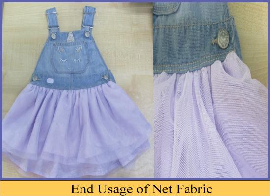 Net Fabric Uses