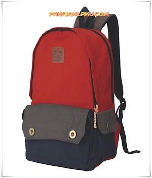 Tas Backpack untuk Pria Warna Merah Laptop-In